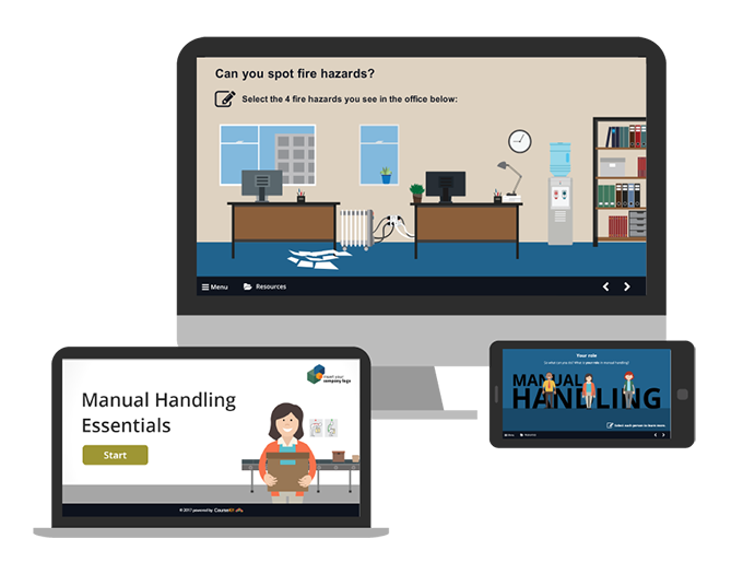 Customer eLearning, eLearning Templates